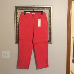 Coral Capris by Charter Club